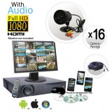 Ultimate 16 Camera Audio Camera System