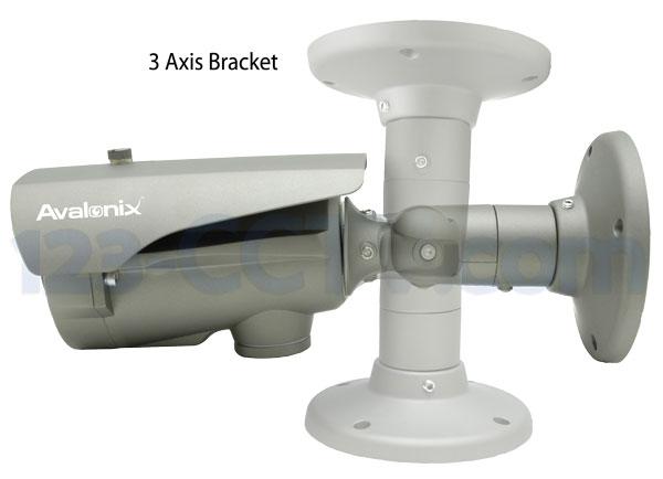 3-axis camera bracket